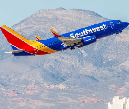 Southwest flight makes emergency landing after passenger is caught reportedly smoking marijuana in lavatory