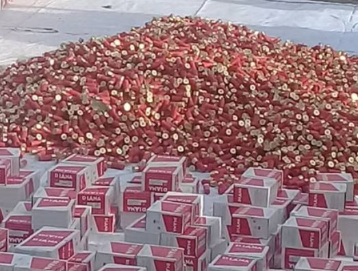 Nigerian?Army intercepts three truckloads of live ammunition in Ogun State?(Photo)