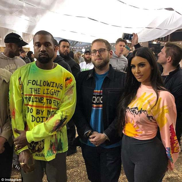 Kim Kardashian, Nas, 2 Chainz and others attend Kanye West