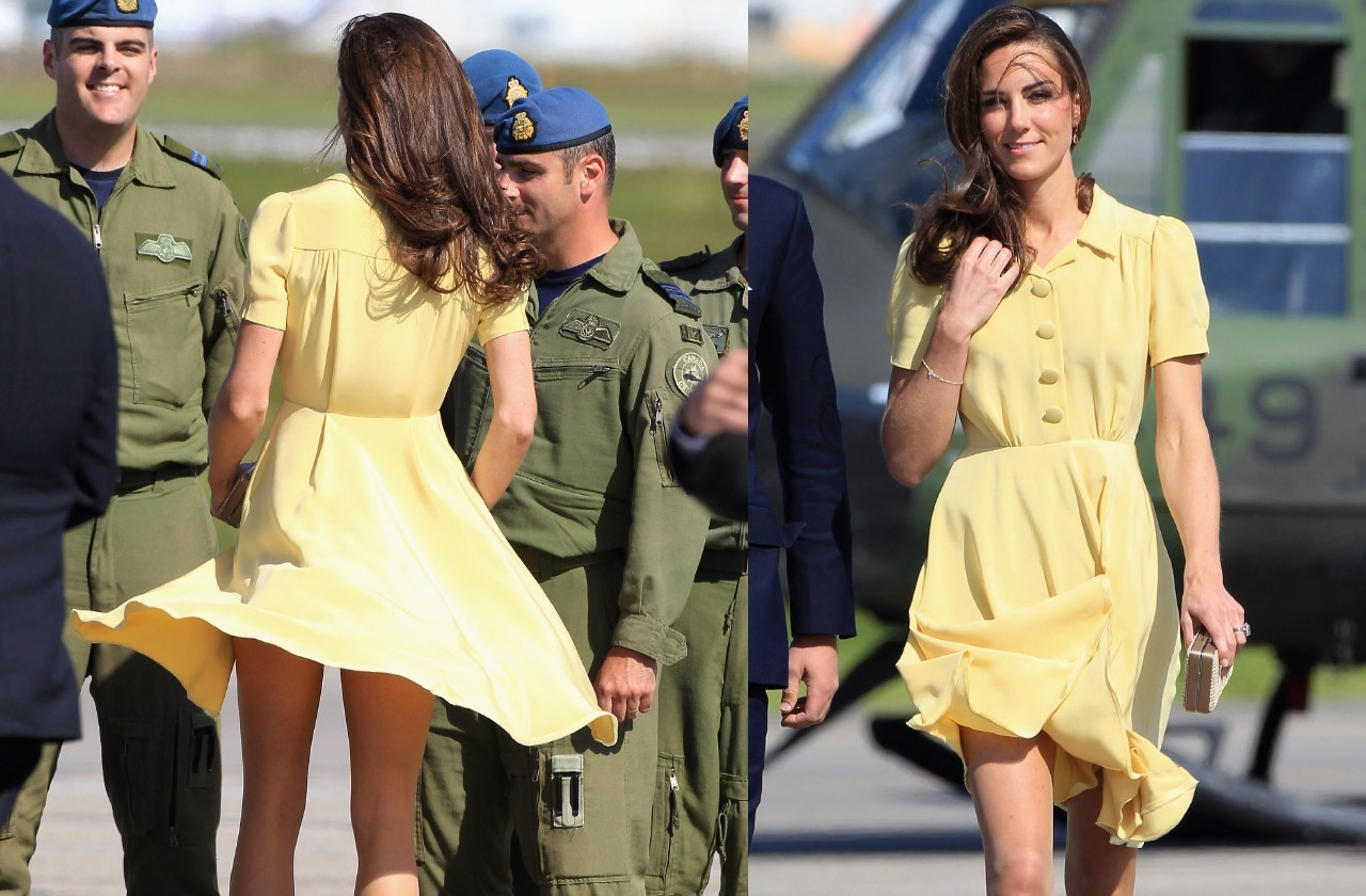 All the times Kate Middleton broke Royal family rules to reveal too much skin (photos)