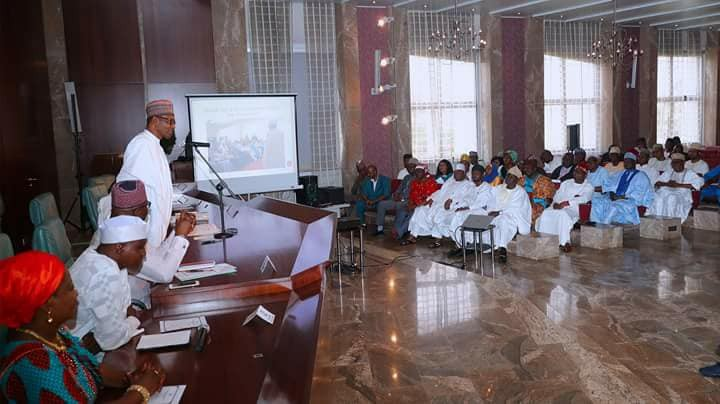 2019: President Buhari meets his media support group, says