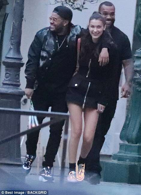Exes Bella Hadid and The Weeknd confirm they are back together with intimate dinner date in Paris (Photos)