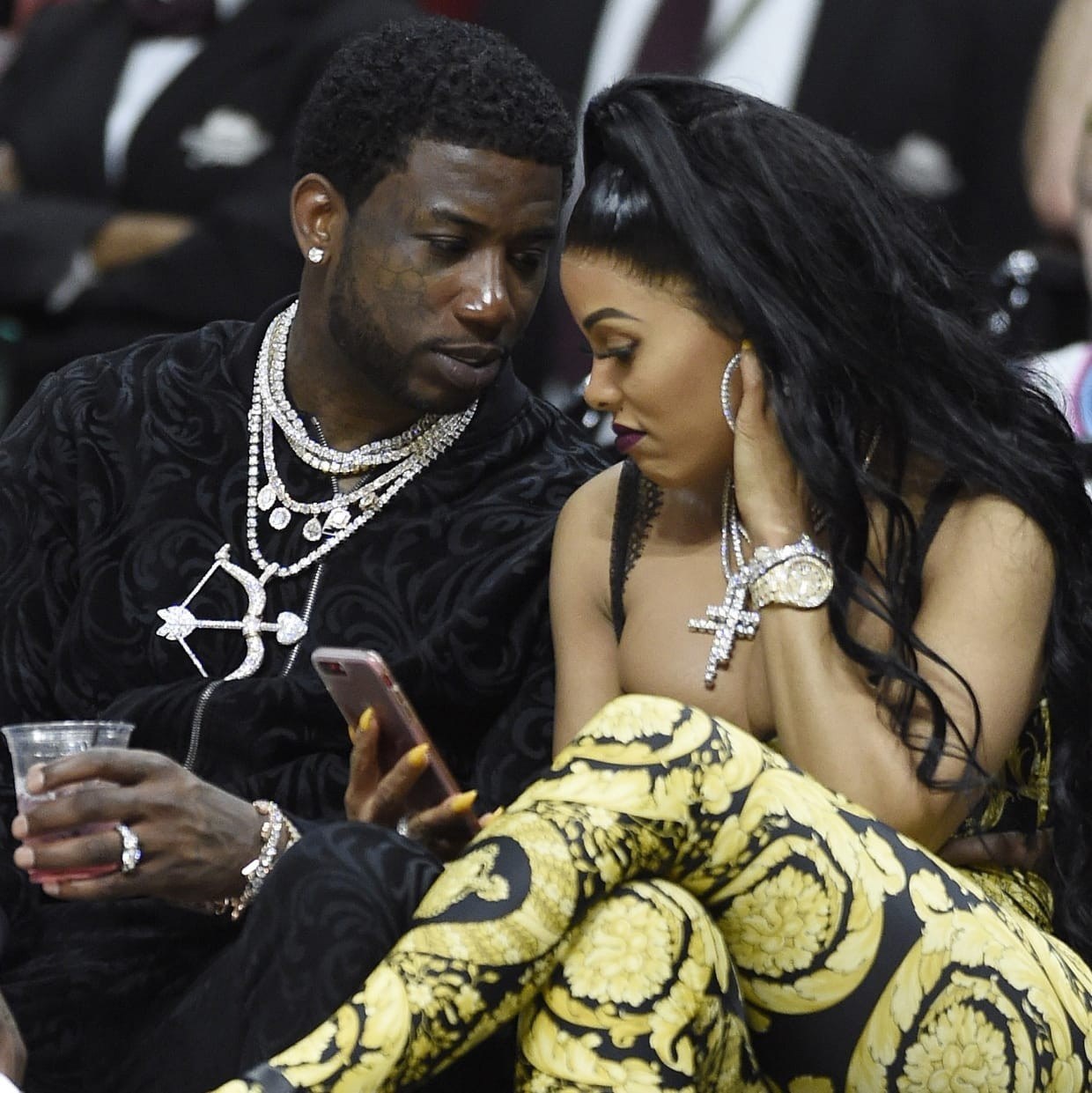 7 months after their lavish wedding, Gucci Mane has unfollowed his wife Keyshia Ka