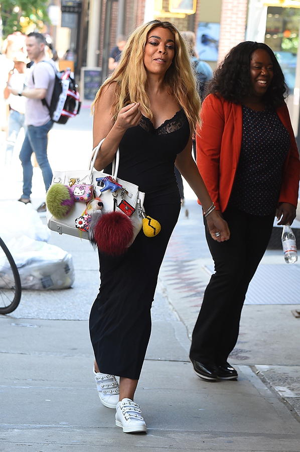 Wendy Williams steps out in a $20k Hermes bag (photos)