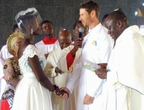 First photos from the wedding of late Dora Akunyili?s daughter, Chidiogo and her Canadian hubby