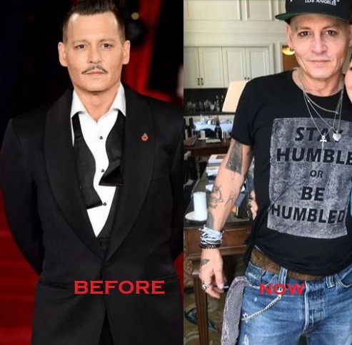 Fans raise concern for Johnny Depp after he appeared pale and gaunt during European tour with his band (Photos)