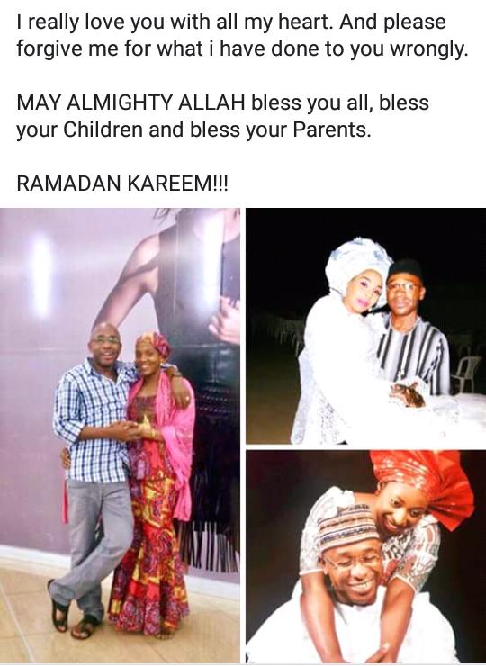 Nigerian man gets emotional as he praises his 3 wives