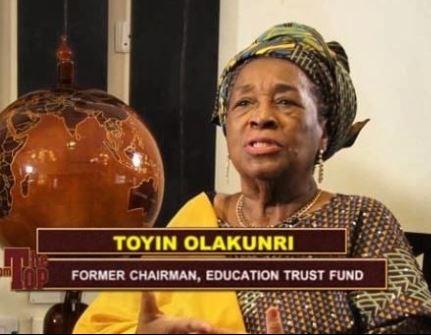 GTBank MD, Segun Agabje?s Mother-In-Law, Nike Olakunri dies In Church at 80