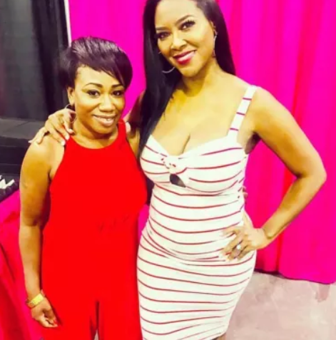 First photos of Kenya Moore