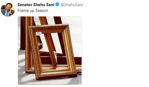 See Senator Shehu Sani tweets after police invited Saraki over Offa bank robbery