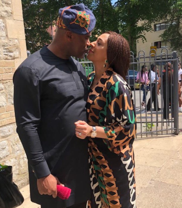 Check out this loved up photo of Pastor Paul Adefarasin and his wife, Ifeanyi