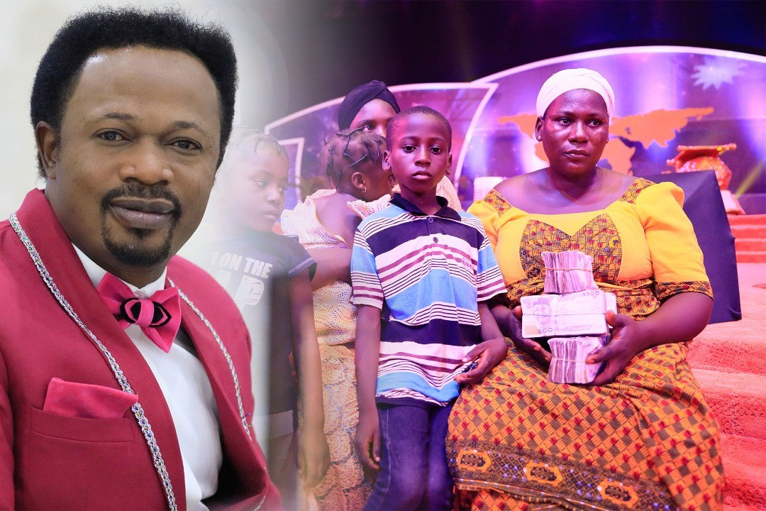 Bro. Joshua Iginla blesses widow, orphans, others with N12m, house and scholarship