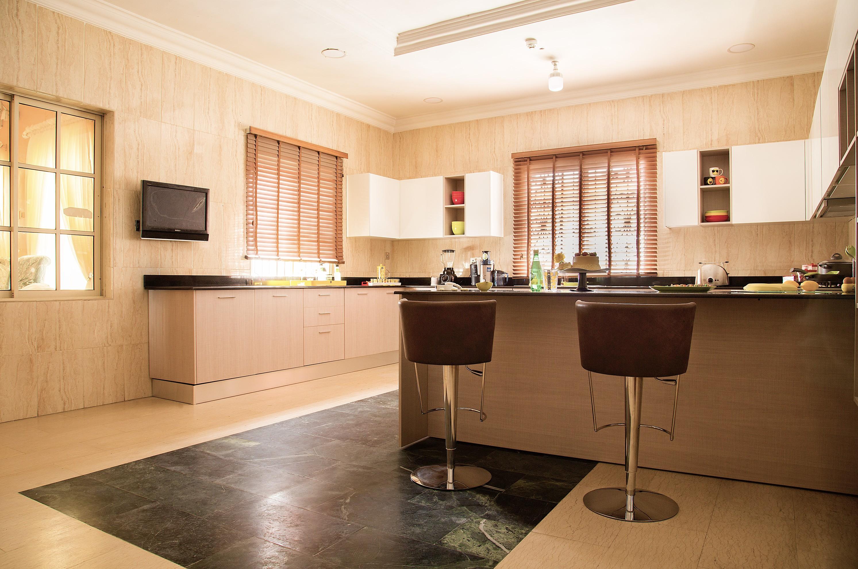 Stunning final photos of the Linda Ikeji TV kitchen by Pedini Nigeria