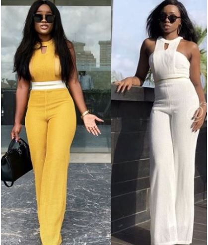 Photo: Ceec VS Bam Bam... Who rocked the jumpsuit better?