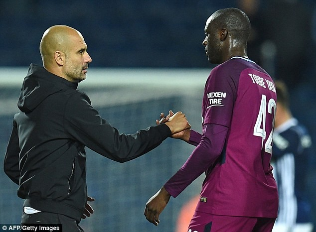 Yaya Toure accuses Pep Guardiola of favouring white players, says he doesn