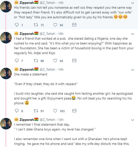 Ghanaian woman says Nigerian men are the best in the whole of Africa and gives reasons but Nigerian women don