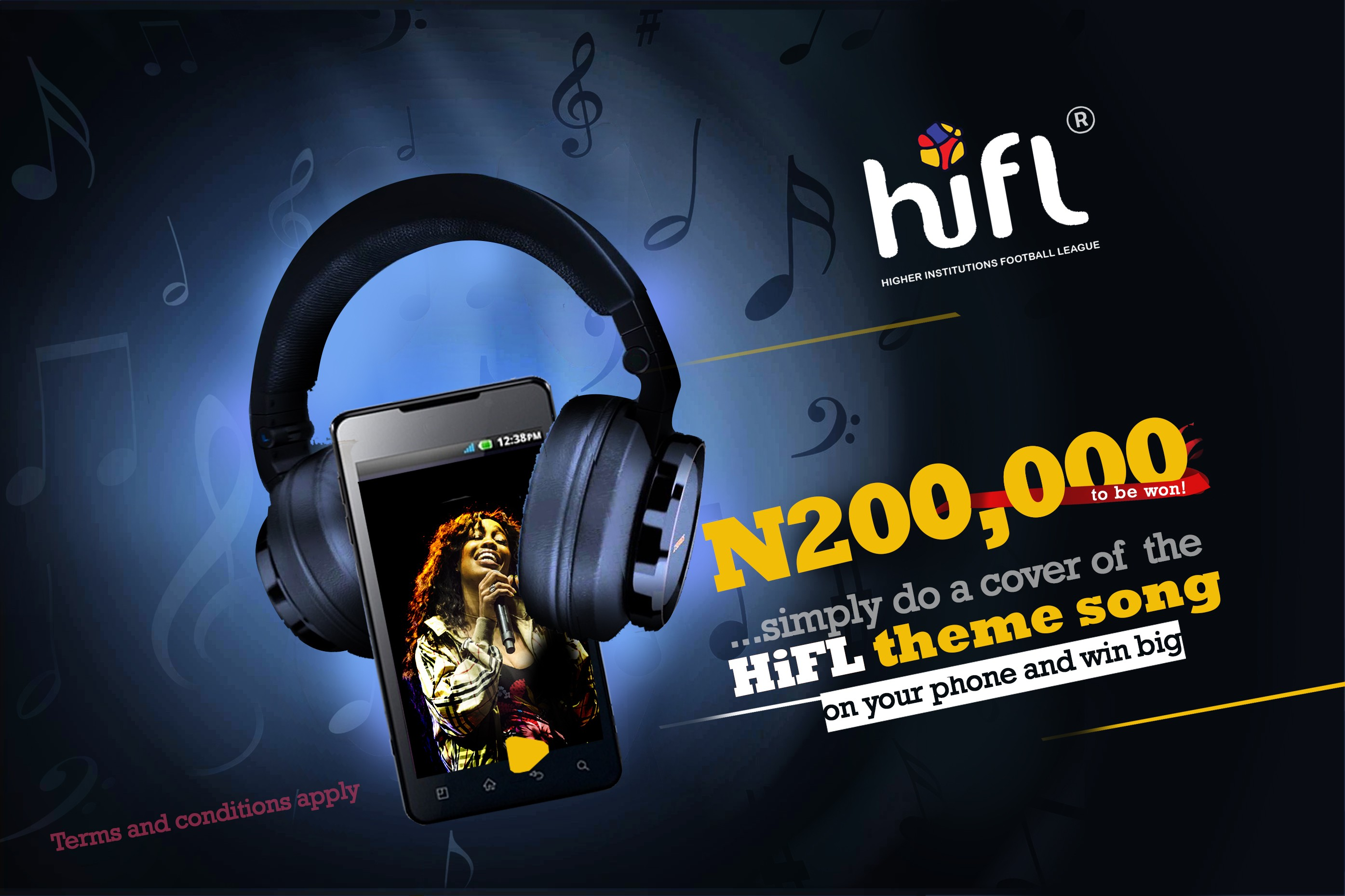 HiFL? releases official theme song, N200,000 up for grabs!!!