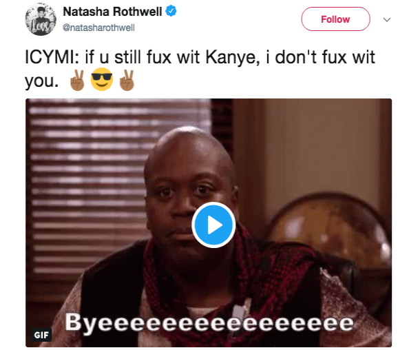 Issa Rae slams Kanye West in front of Kim Kardashian