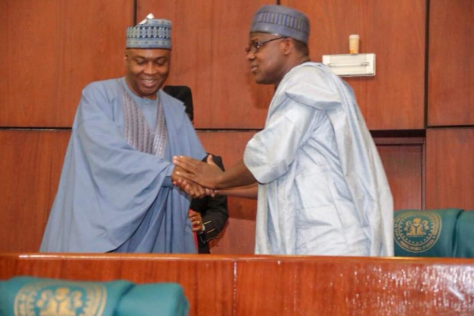 Photos from the Joint Session of the National Assembly where resolutions against President Buhari were taken