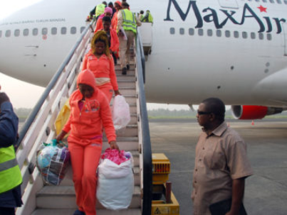 171 Nigerian deportees arrive from Libya