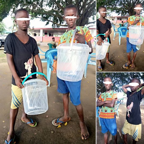 """Beware of these two young boys selling sachet water in Uyo"" man raises alarm"