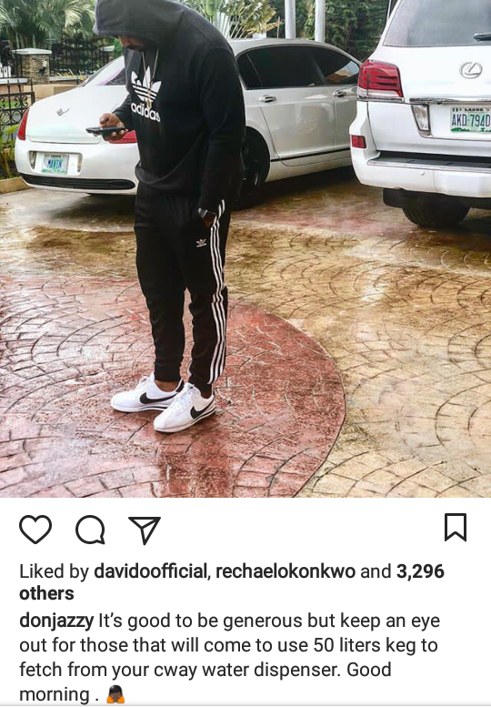 Don Jazzy warns generous people of the kind of people they should beware of