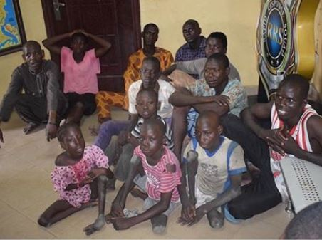 Lagos Police arrests 7 people for importing physically challenged kids into the state to beg