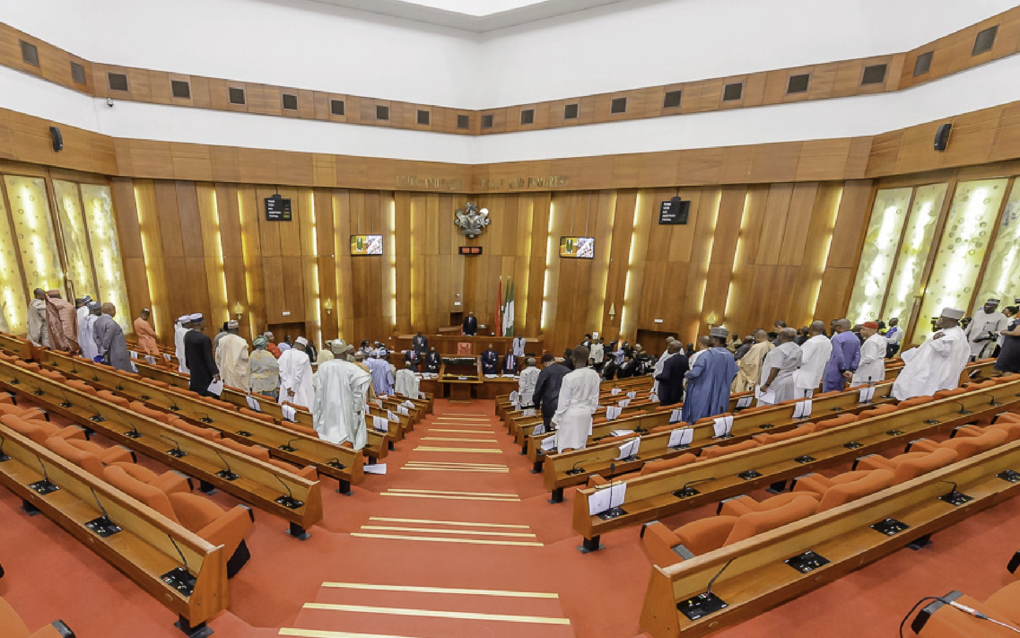 Saraki gets vote of confidence from the National Assembly