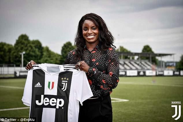 Italian champions Juventus signs Nigerian-British Eni Aluko from Chelsea