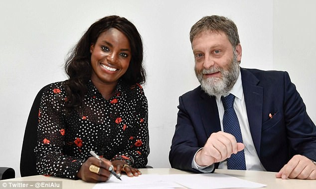 Image result for Former Chelsea forward Eniola Aluko signs for Italian champions Juventus