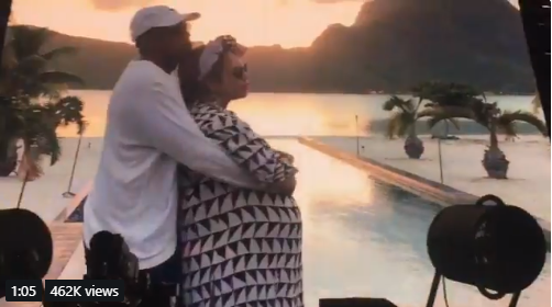 Emotional clip from Beyonce and Jay-Z