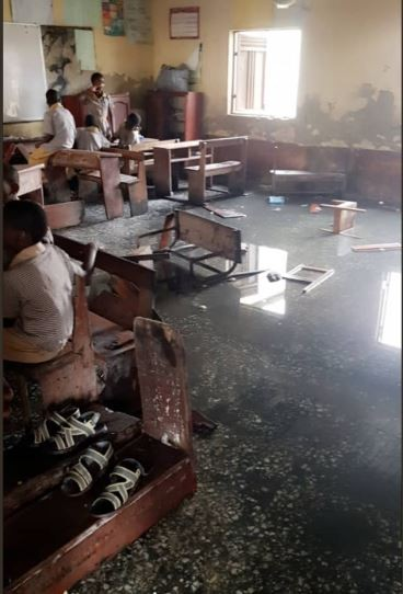 Photos of the poor state of?Itedo Grammar school in Lekki Phase One
