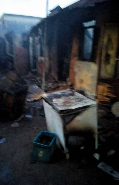Explosion cause by adulterated kerosene kills 7-year-old girl in Delta state (graphic photos)