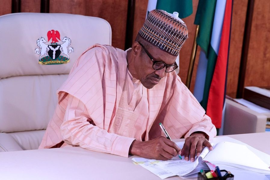 President Buhari signs law stopping VPs who complete a president?s tenure from contesting for presidency twice