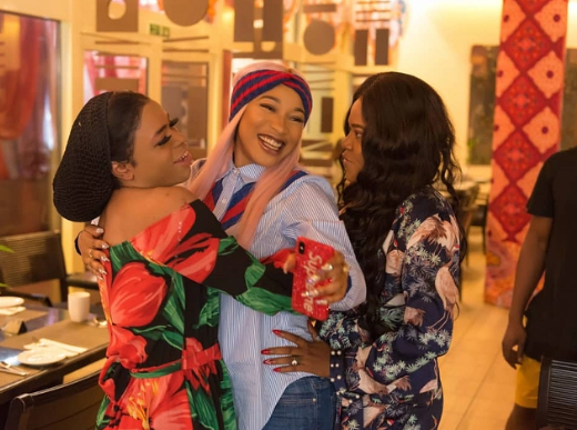 Photos: Toyin Abraham, Halima Abubakar, Bobrisky attend Tonto Dikeh