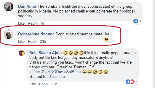 Vanguard newspapers dissociates itself from Editorial board chairman of over 20 years who described Yorubas as sophisticated morons on Facebook