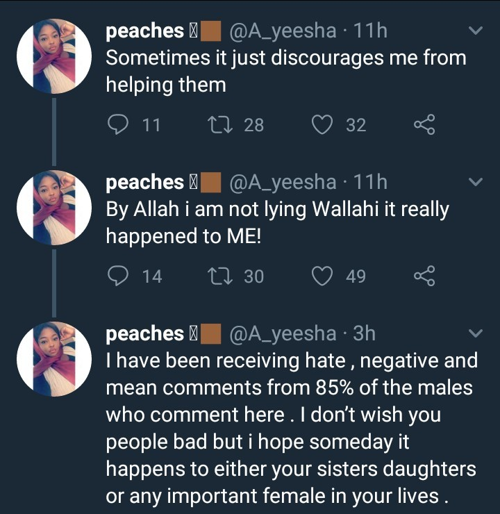 Lady narrates the shocking experience she had with