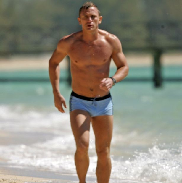 James Bond star, Daniel Craig looking to lose his beer belly ahead of final James Bond appearance