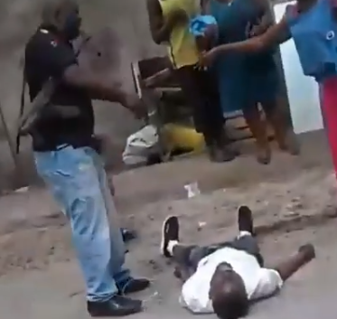 Three SARS officers that attacked a man in Ojota have been dismissed
