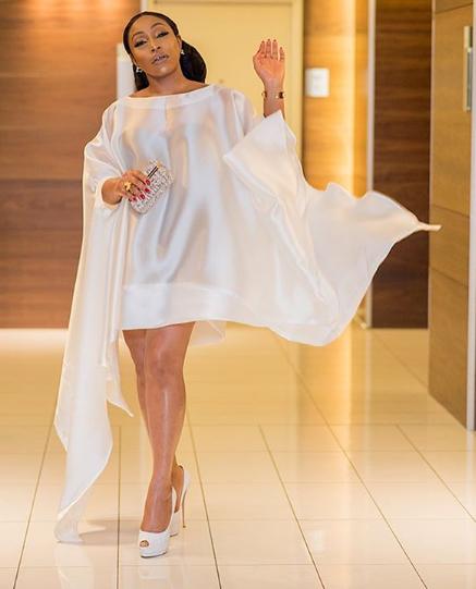 Rita Dominic looks breathtaking in white ensemble(photos)