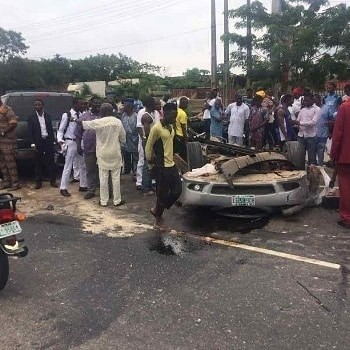 Lead City University student dies in car accident in Ibadan minutes after tweeting that the car wanted to kill him (photos)