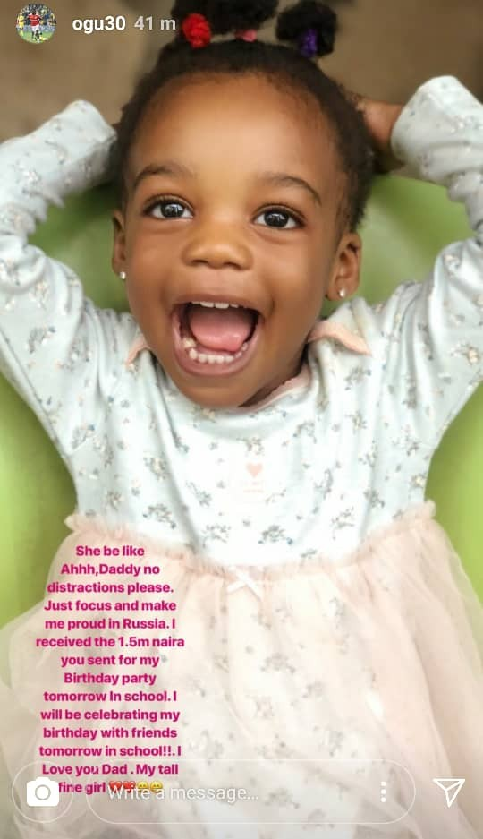John Ogu reacts to his sister in-law