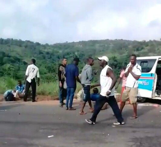 Update on the fatal accident along Enugu-Onitsha road. Seven people killed were members of same family