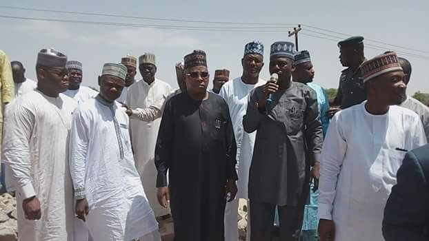 Photos: Borno State Government to convert prostitution den to schools