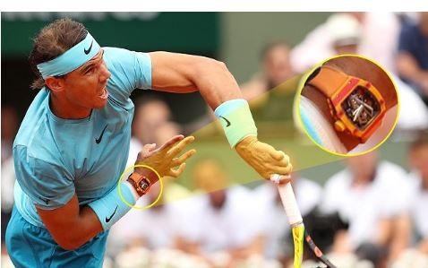Rafael Nadal rocked