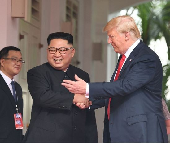 Donald Trump finally meets Kim Jung-un, says
