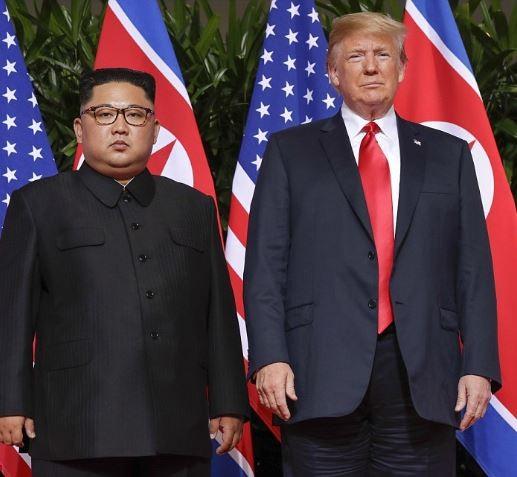 Donald Trump finally meets Kim Jung-un, says