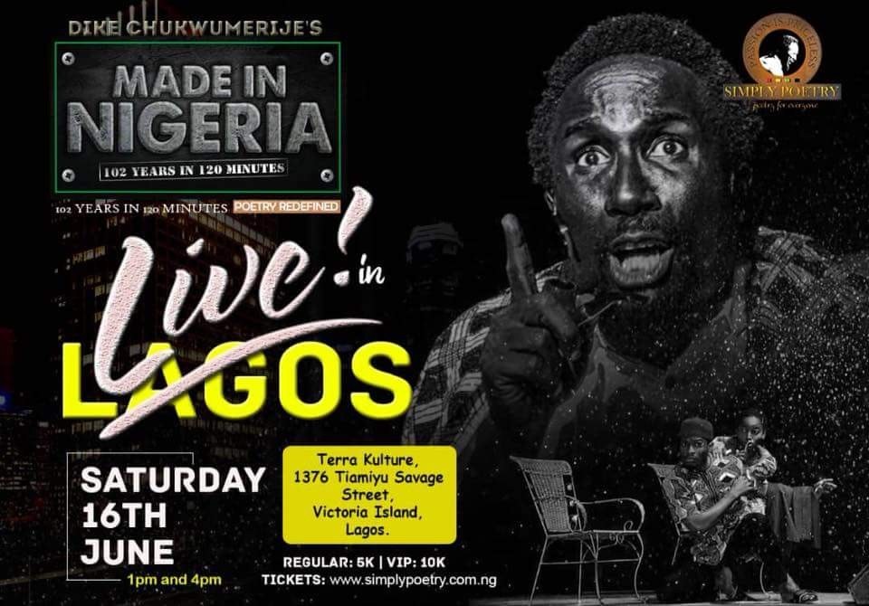 Made in Nigeria Show happening live in Lagos this June