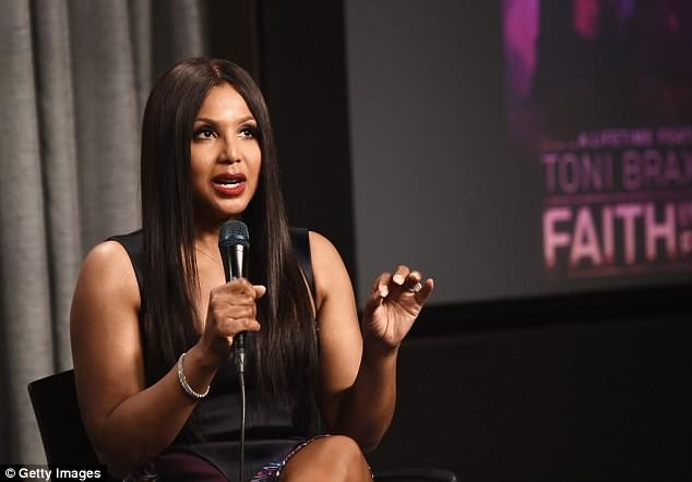 ?Toni Braxton, 50, shows off her age-defying looks at the Faith Under Fire screening (Photos)