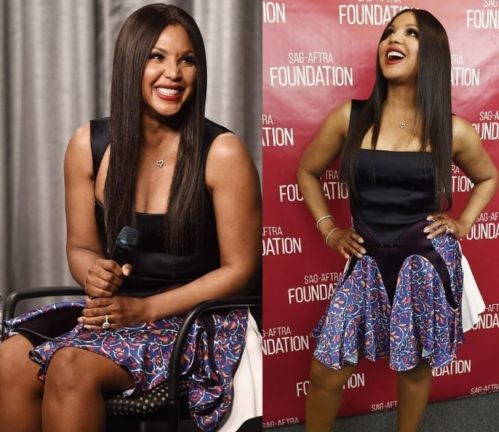 Image result for Toni Braxton, 50, shows off her age-defying looks at the Faith Under Fire screening (Photos)